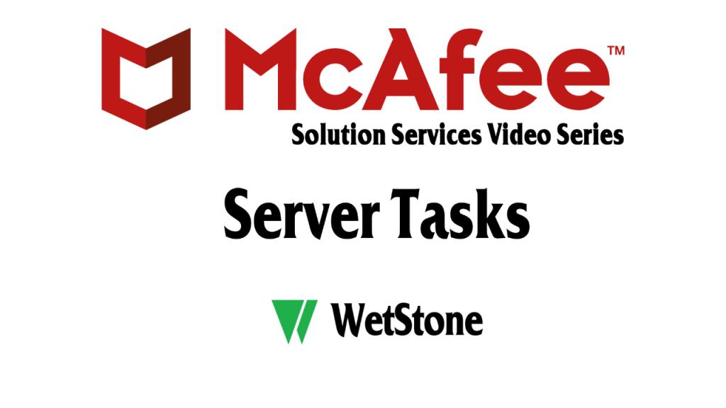 Server Tasks