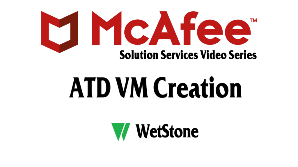 ATD VM Creation