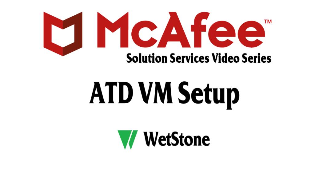 ATD VM Setup