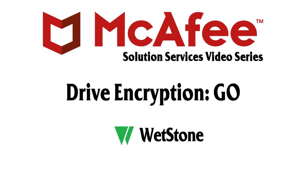 Drive Encryption: GO
