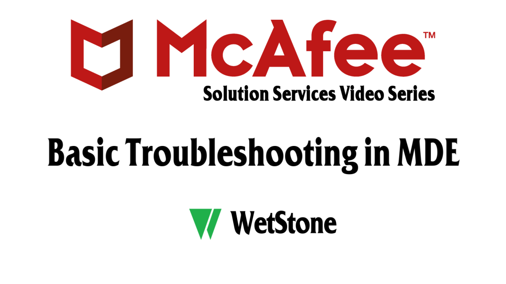 Basic Troubleshooting in MDE