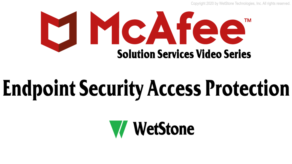 Endpoint Security Access Protection