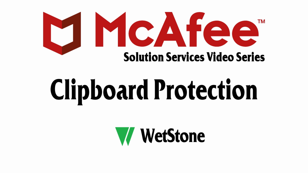 Clipboard Protection in McAfee DLP