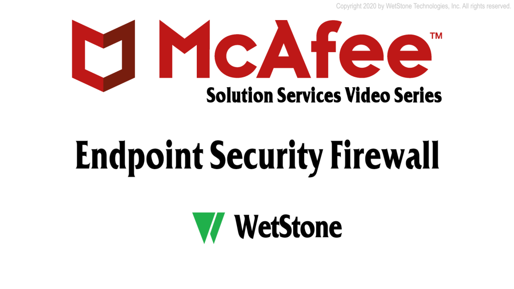 Endpoint Security Firewall