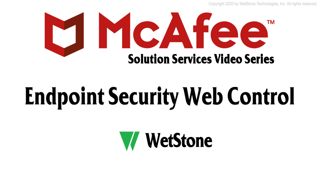 Endpoint Security Web Control