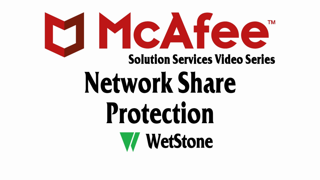 Network Share Protection in McAfee DLP