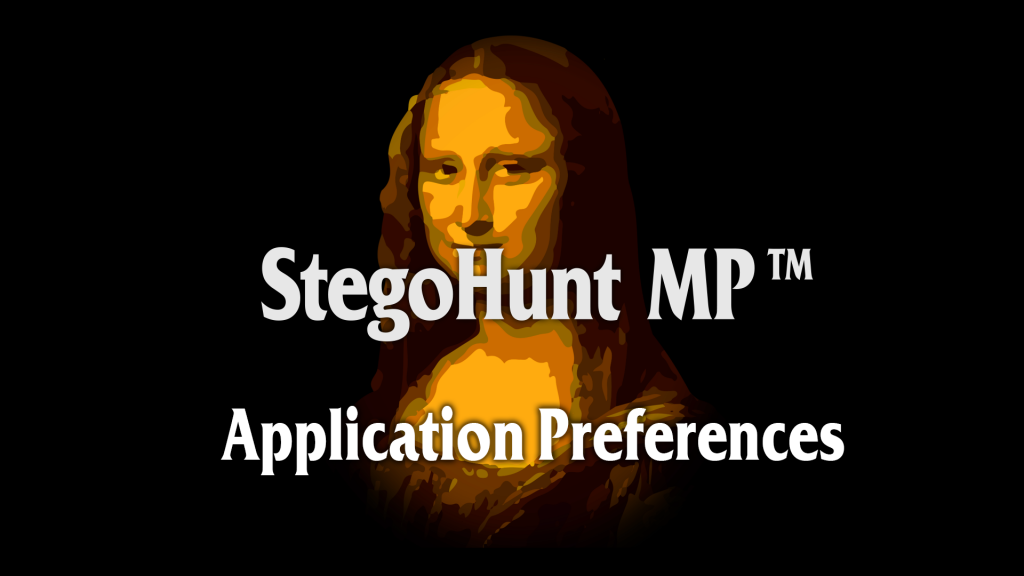 StegoHunt MP: Application Preferences