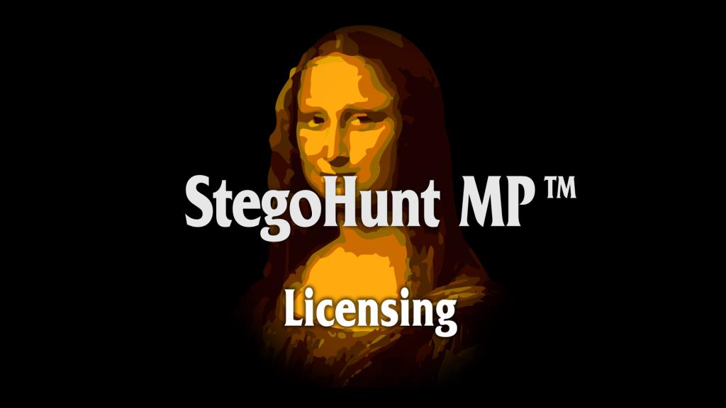 StegoHunt MP: Licensing
