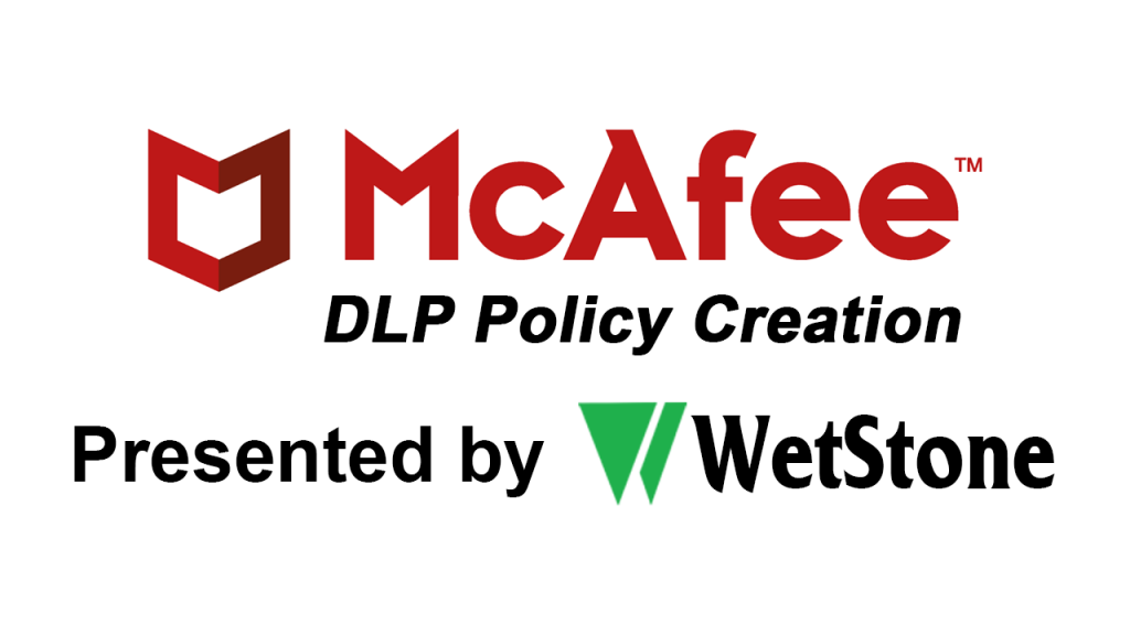DLP Policy Creation