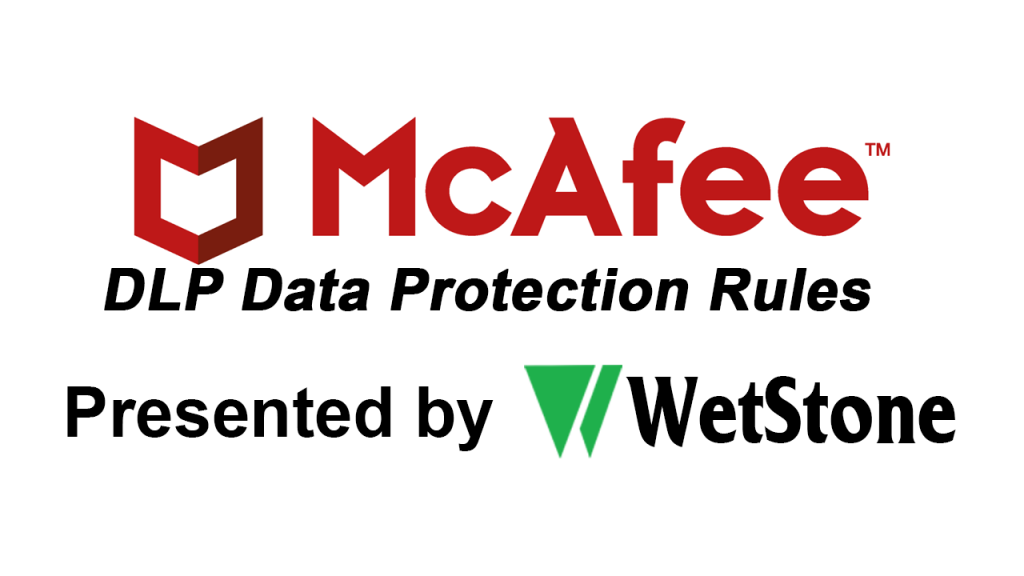 DLP Data Protection Rules