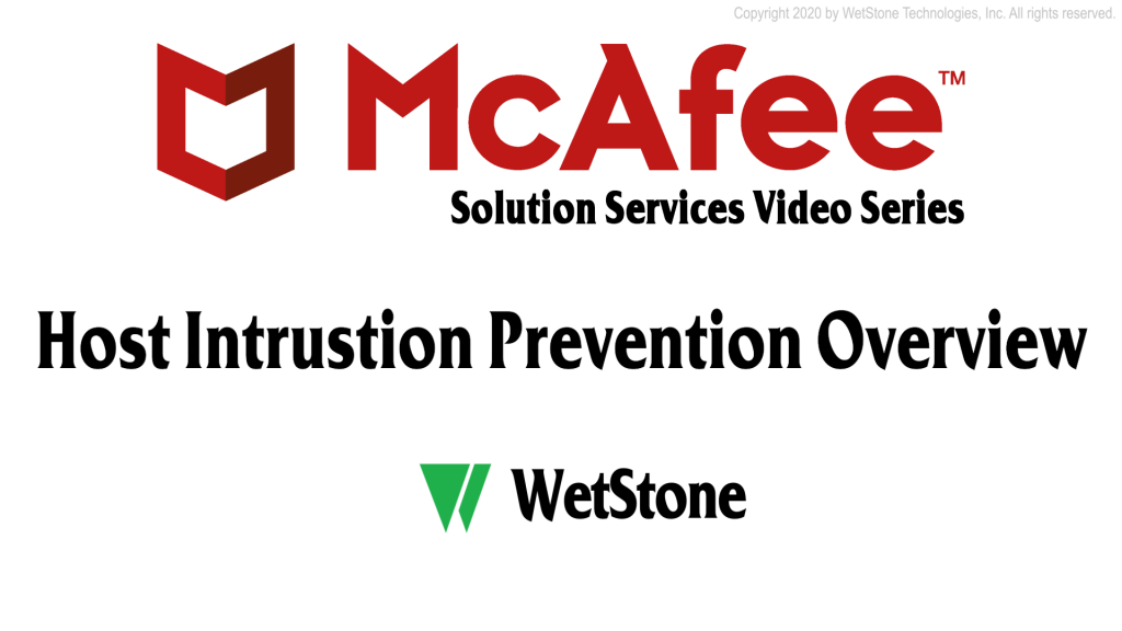 Host Intrusion Prevention Overview