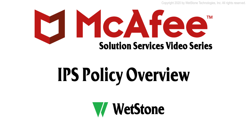 IPS Policy Overview