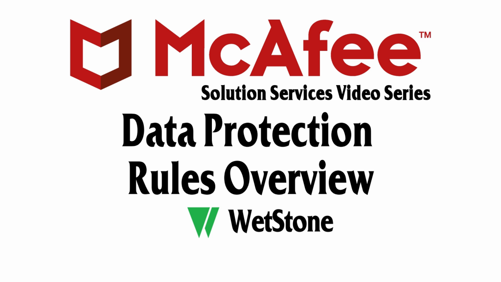 DLP Data Protection Rules Overview