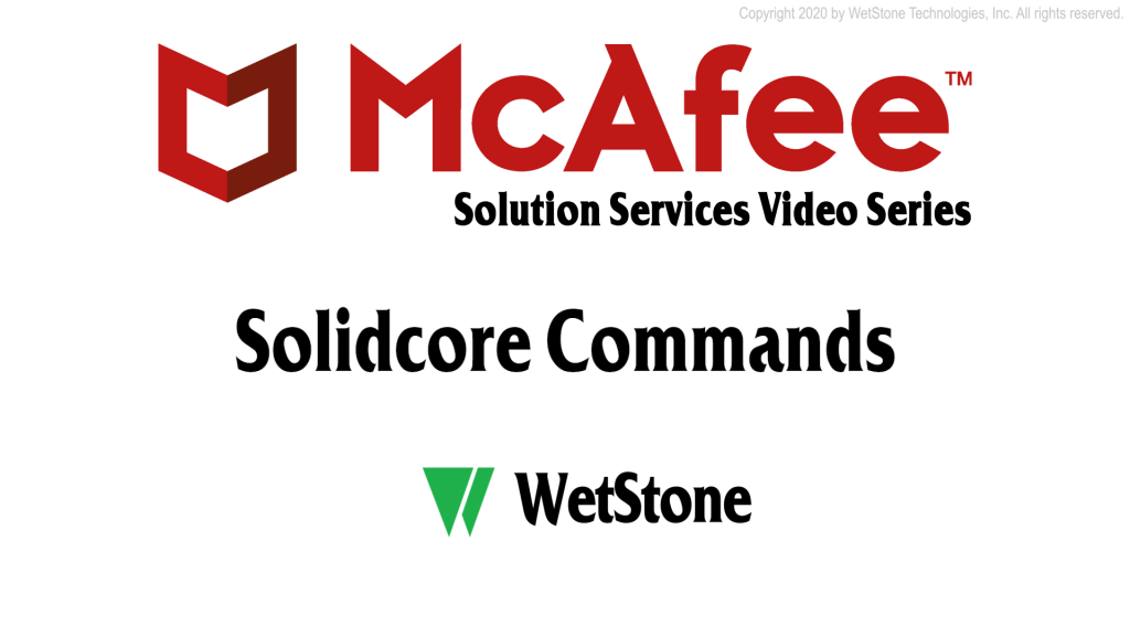 Solidcore Commands