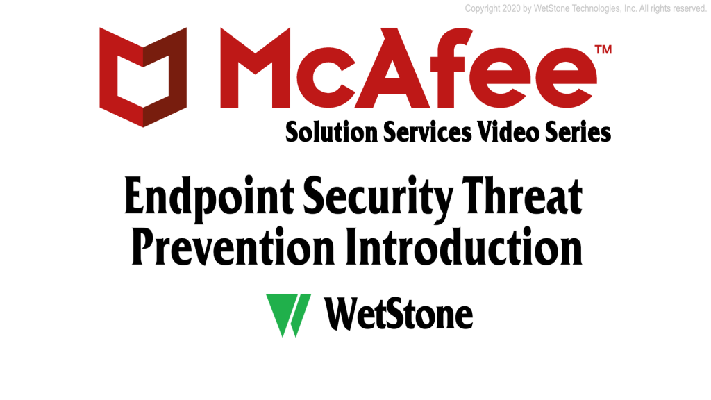 Endpoint Security Threat Prevention Introduction